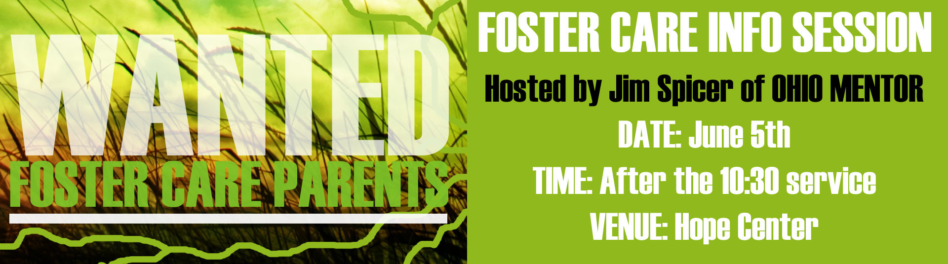Foster Care Infor Session