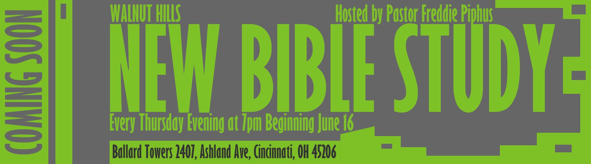 Walnut Hills Bible Study